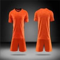 new summer orange sport suit mens sets t shirtsshorts two pieces sets casual tracksuit o neck sportswear sweatsuit tracksuit