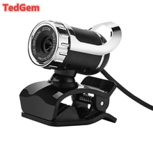 360 Degree USB 12M HD Webcam Web Cam Clip-on Digital Camcorder with MIC Microphone for Laptop PC Com