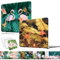 for macbook air 1113 macbook pro 1315 retina macbook pro 131516 touch barmacbook 12 flamingo pattern protective shell