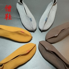 Shaolin Mönch Kung Fu Schuhe Kampfkunst Wushu Taekwondo Buddhistischen Lieferungen Mann Rohan Schuhe Cosplay Schuhe