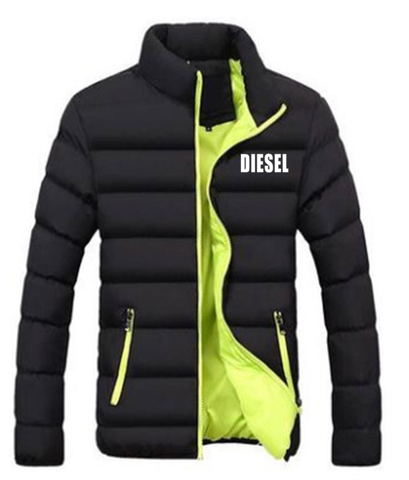 Новая брендовая мужская куртка, утепленная куртка на осень и зиму, Повседневная модная ветровка, спортивная куртка для бега, мужская куртка