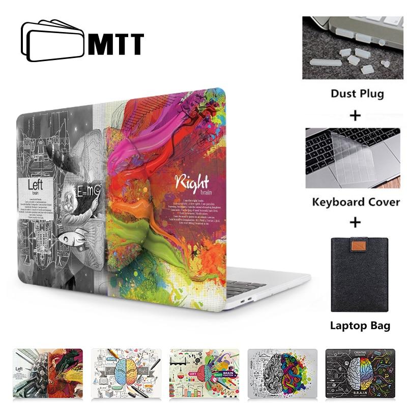MTT Graffiti Case For Macbook Air 11 13 Pro Retina 12 13 15 16 inch Touch Bar Cover for mac book pro 13.3 15.4 Laptop Bag Case
