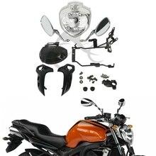 Motorcycle HEADLIGHT SET HEAD LIGHT Lamp ASSEMBLY FOR YAMAHA FZ6 FZ6N 2004-2006 2005 Farol FZ6