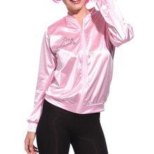 Women Basic Coats Solid Tracksuit for Women Jacket Ladies Retro Jacket Women Fancy Dress Grease Cost