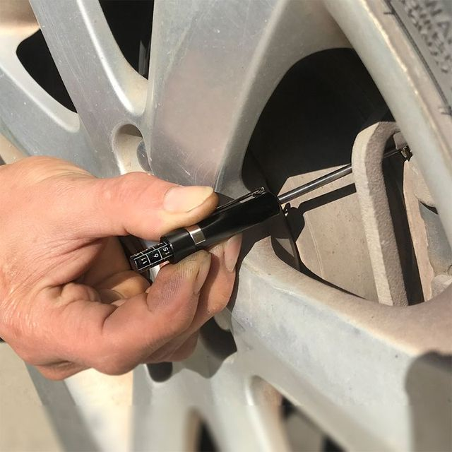 Измеритель толщины тормозной колодки, прибор для экономии времени в гараже, для автомобильных шин Q9QD