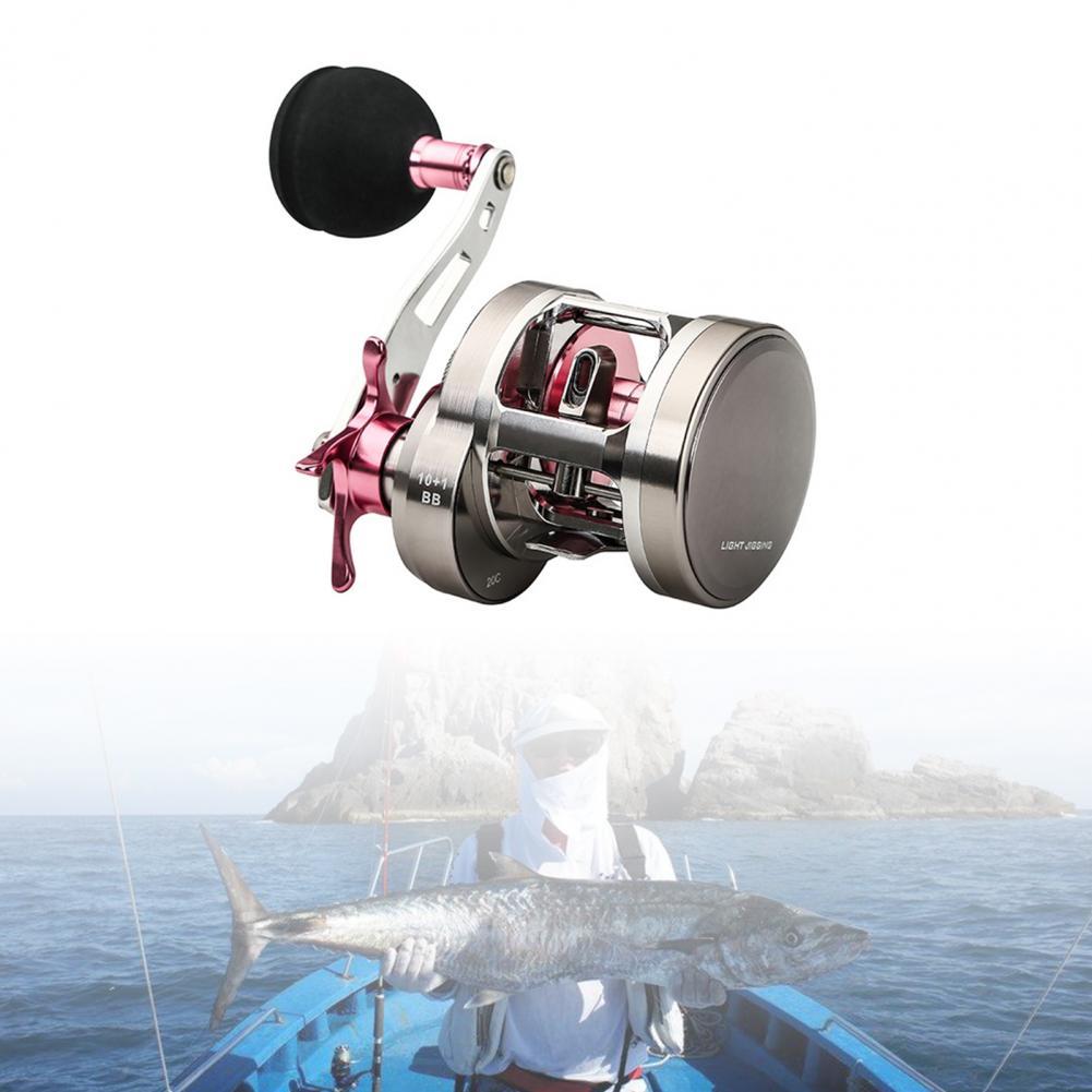Fishing Reel Smooth Precise One-way Bearing Stable Fishing Metal Wheel for Fishing рыбалка pesca Reels enlarge
