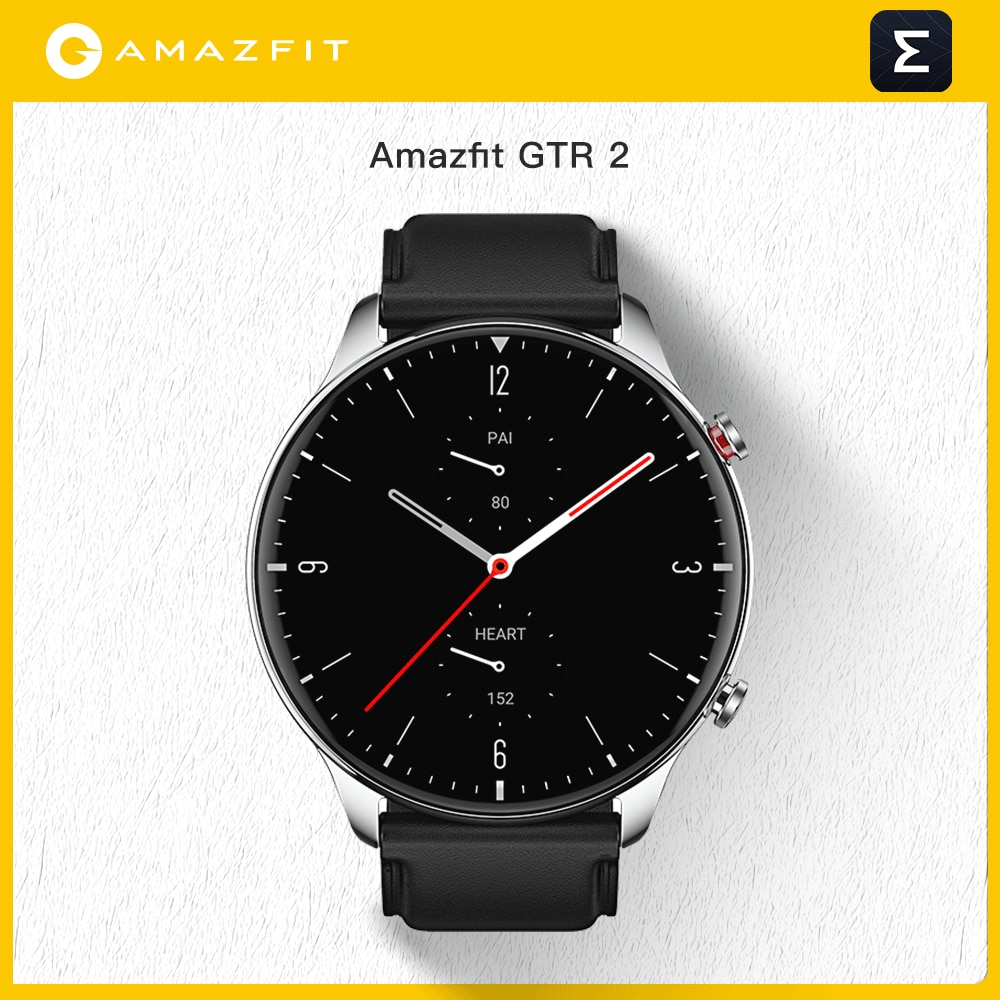 Promo 2021 Amazfit GTR 2 Smartwatch 14 Days Battery Life 5ATM Confident Time Control Sleep Monitoring Smart Watch For Ios Android Phon