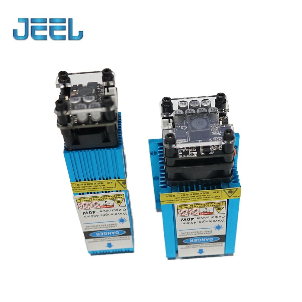 40W High Power Laser Module PWM TTL Blue Light Module for  Wood Cutting Engraving Machine Cutting Tool enlarge