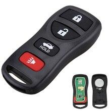 315MHZ 4 Tasten Auto Auto Keyless Entry Fernbedienung Schlüssel Fob Clicker Ersatz KBRASTU15 für Infiniti / Nissan 2002-2011