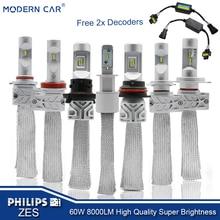 1 pcs*Factory cheap H7 23w 12v M50P LED headlight bulbs waterproof car lights led headlamp truck led spotlight