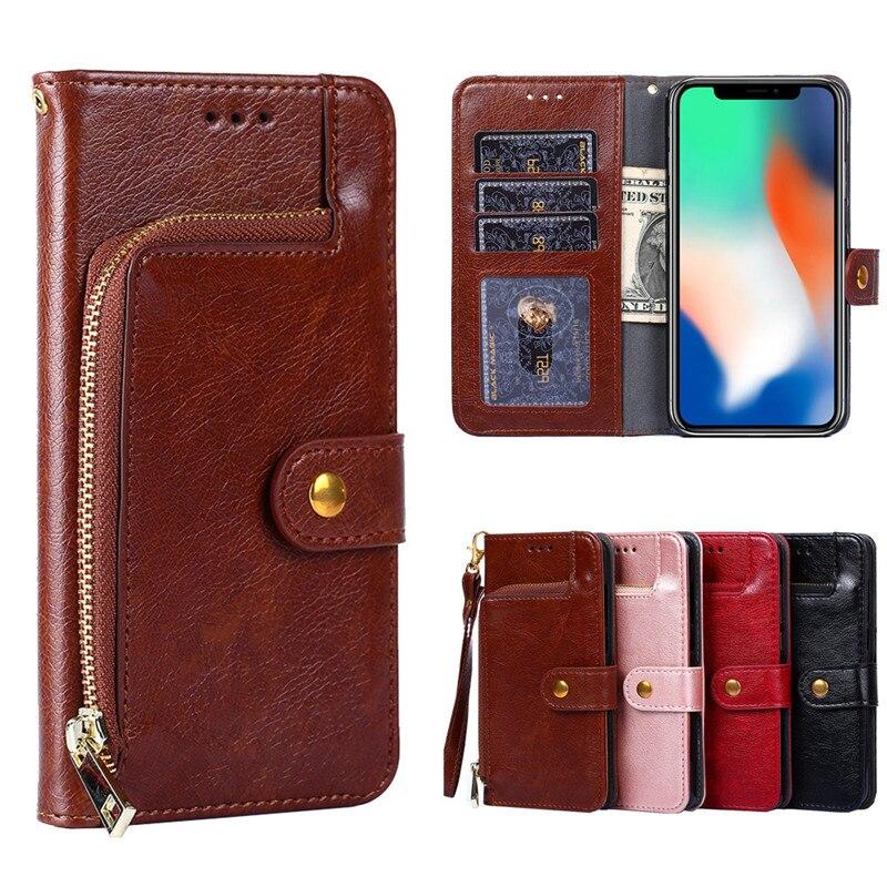 Funda de teléfono multifuncional de cuero PU con cierre magnético para Samsung Galaxy M31/M21/M11/M30S/M30/M20/M10, funda de teléfono con soporte