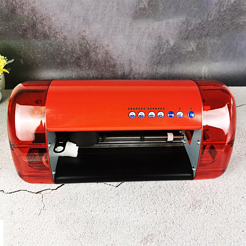 Автоматический корректирующий компьютерный режущий плоттер новый виниловый резак Anycut DC330 PU PVC A3 размер мини настольный гравировальный стан...