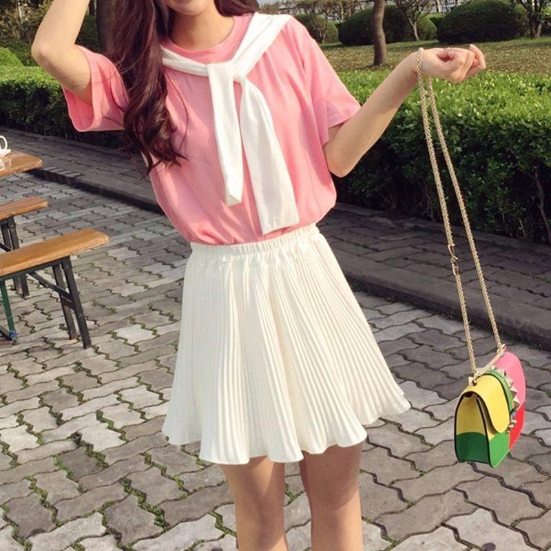 Nicemix Faldas Plisadas Blancas Para Mujer Minifalda Negra De Gasa Para Playa Ropa De Oficina 2020 Faldas Aliexpress