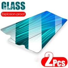 2 قطعة HD الزجاج المقسى واضح فيلم واقية ل شاومي Redmi نوت 8 7 9 برو ماكس 9S 8T غطاء كامل 8A 7A حامي الشاشة الزجاج