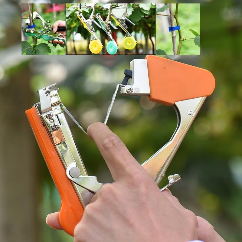 Новые садовые инструменты, инструмент для подвязки растений, инструмент для подвязки овощей и травы, ручная машинка для подвязки, инструмен...