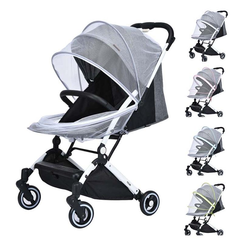 Противомоскитная сетка для коляски универсальные детские аксессуары, подходящие для большинства колясок, детские кроватки, такие как Yoya-Yoyo...