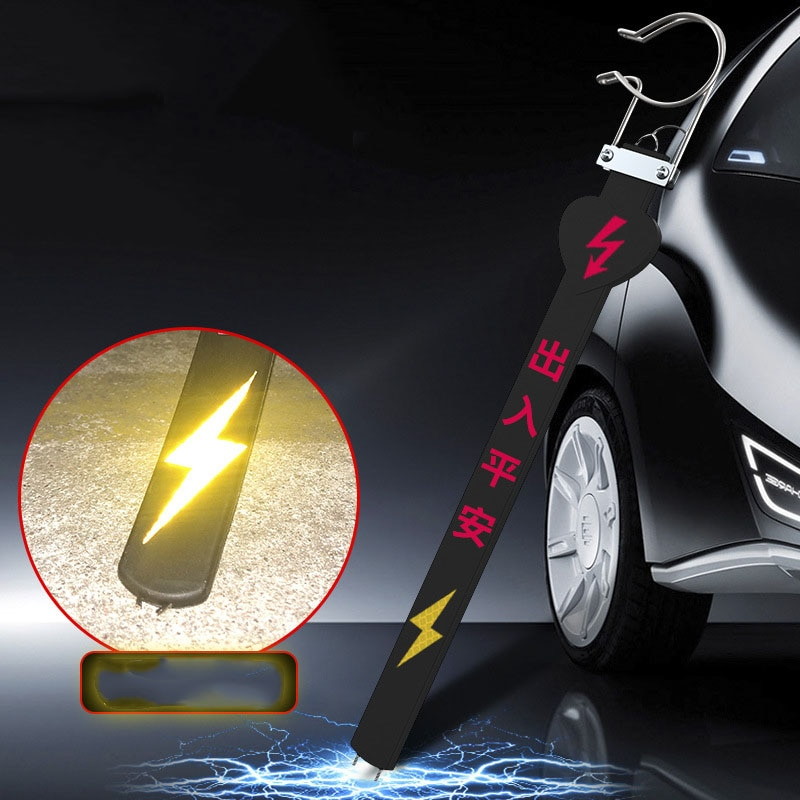 Barra de limpeza da suspensão da corrente de aterramento da correia estática da eletricidade do veículo no inverno para eliminar a eletricidade estática do veículo