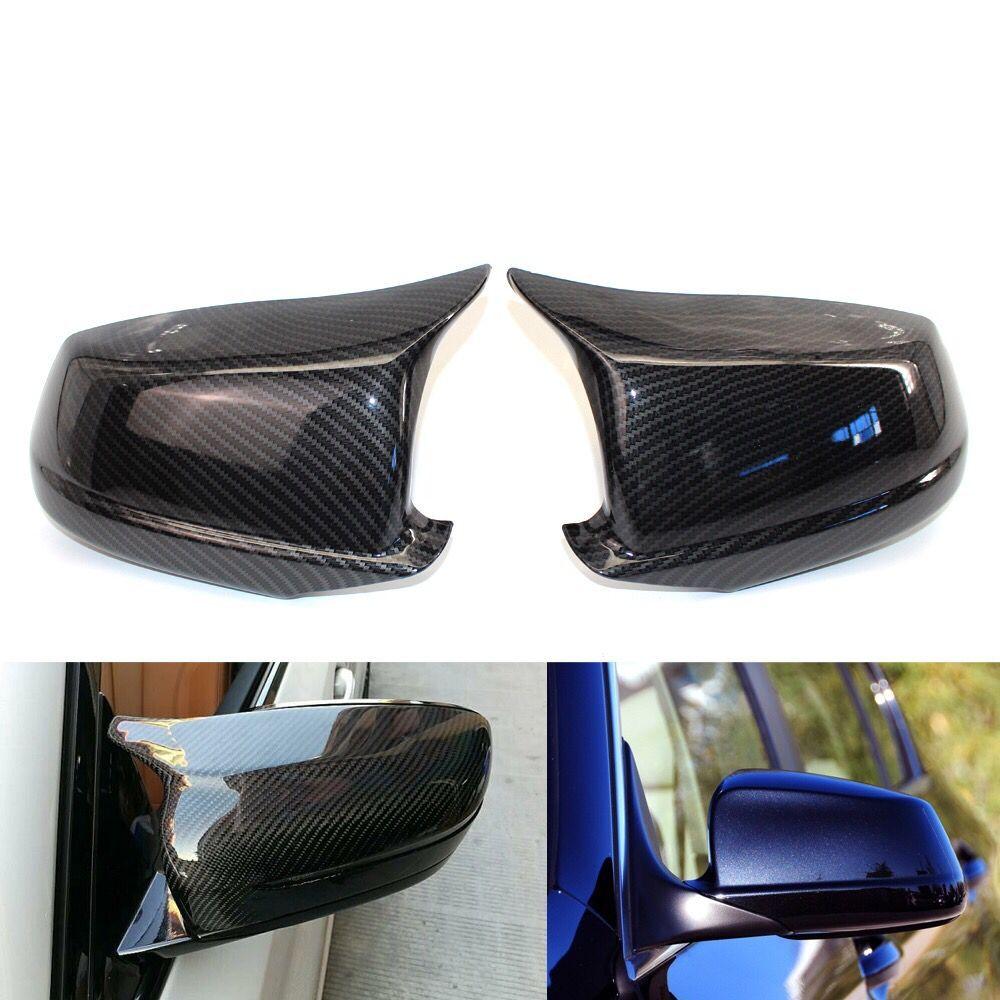 Cubiertas de espejo aptas para Bmw 5 Series F10/F11/F18 pre-lci 11-13 tapas de espejo lateral de reemplazamiento tapas de espejo retrovisor de puerta trasera