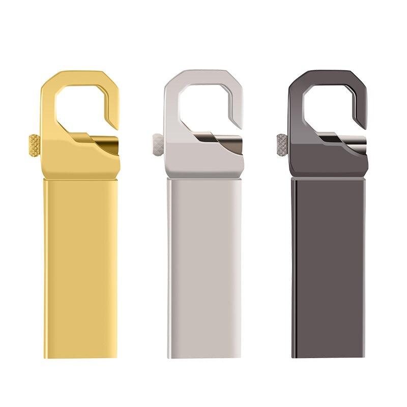 USB Flash Drive Metal pendrive 128gb 64gb cle usb stick 32gb 16gb 8gb 4gb usb 2.0 Pen Drive for pc car