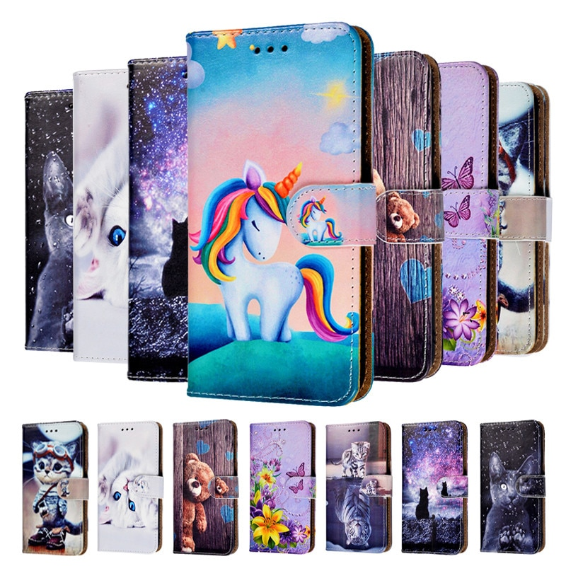 Flip Wallet Case For Xiaomi Redmi Note 9S 8T 8 7 6 Pro Note 5A 8A 7A 6A 5A S2 GO K20 Pro 4X Poco F1 Cover Leather Cases