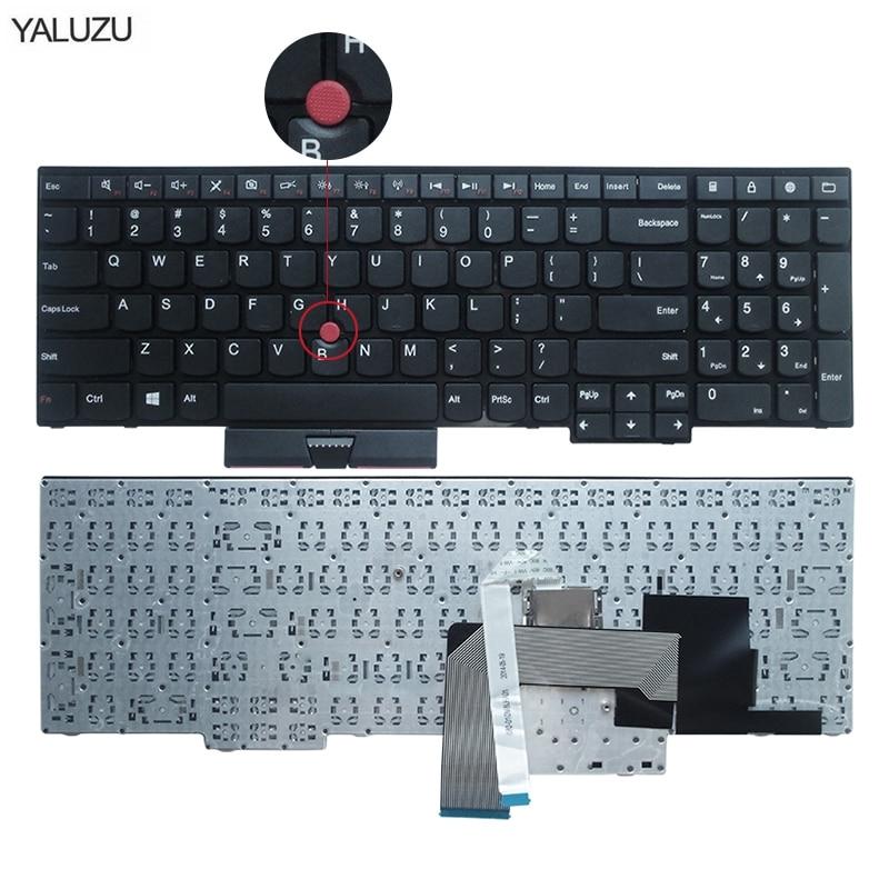 Nuevo teclado para Lenovo para IBM para ThinkPad E530C E530 E545 E535 E530 diseño inglés EE. UU. 04Y0301 0C01700 v1320as3 US