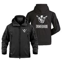 new thunderdome fleece trip military outdoor waterproof softshell jacket adventure travel coat jacket men personalized custom w5