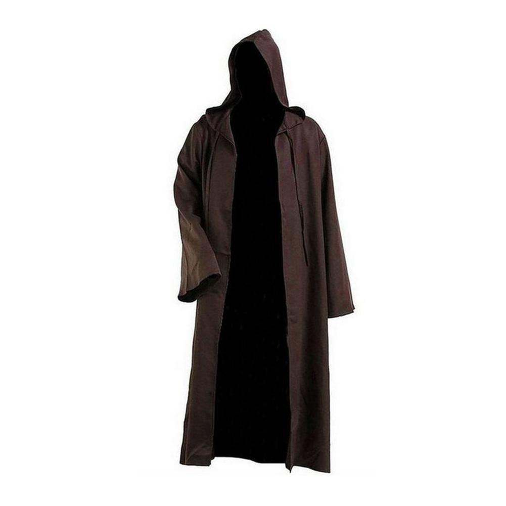 Disfraz de Halloween guerrero Jedi capa Anakin capa túnica de Cosplay Spot Costume C8Q1