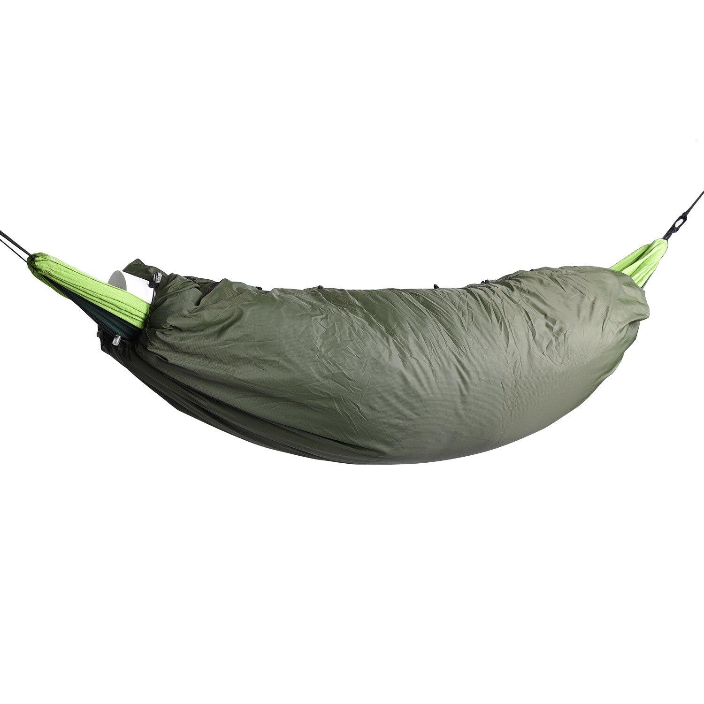 Hamaca ligera al aire libre Underquilt equipo esencial Camping bolsa caliente edredón invierno saco de dormir hamaca Underquilt