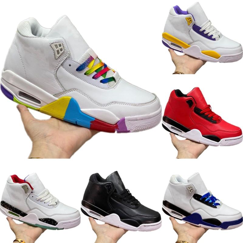 Men Basketball Shoes Flight Legacy Designer Retro 4 Sports Sneaker Antiskid Rubber Built-in Zoom Air Training Boots