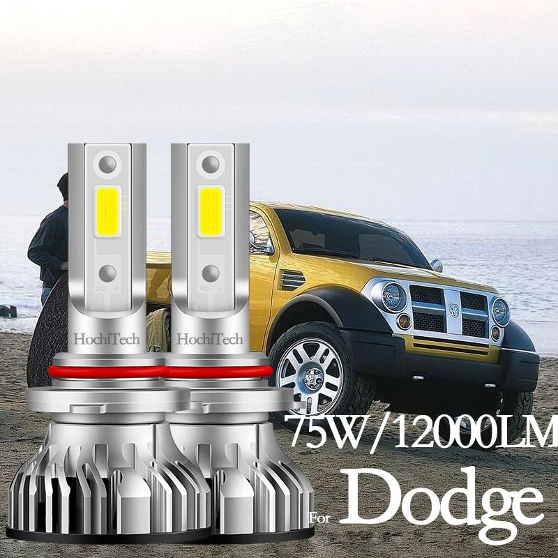 Para dodge Stratus Charger Grand Caravan Challenger Durango Neon Ram Luz De Carretera bombillas de luz Led antiniebla H1 H7 H11