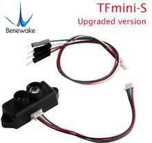 0.1-12m Module de capteur de télémètre tfmini-s Lidar TOF Micro-Point unique pour Drone Robot Arduino Pixhawk UART & IIC