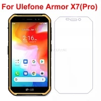 tempered glass for ulefone armor x7 screen protector 9h protective film on ulefone armor x7 pro ip68 screen film x 7 pro cover