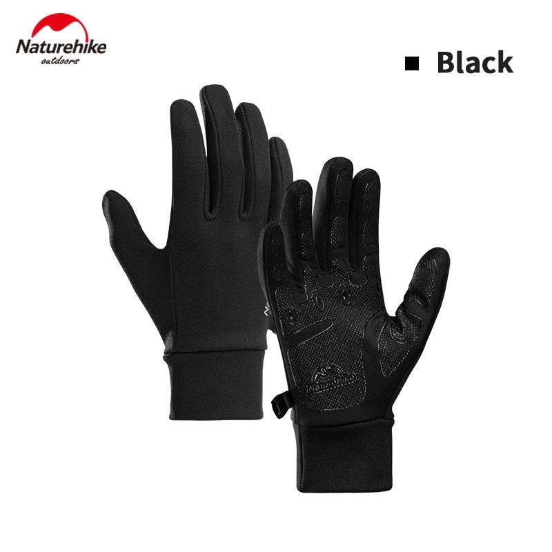 Naturehike, guantes antideslizantes para deportes al aire libre, guantes ultraligeros a la moda para mujer/hombre, guantes de silicona finos transpirables para correr en 3 colores