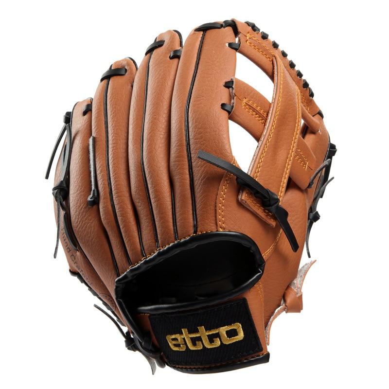 Pro Baseball Glove Leather Luxury Practice Hand Baseball Equipment Trainning Softballs Guante Beisbol Sportswear BY50BQ