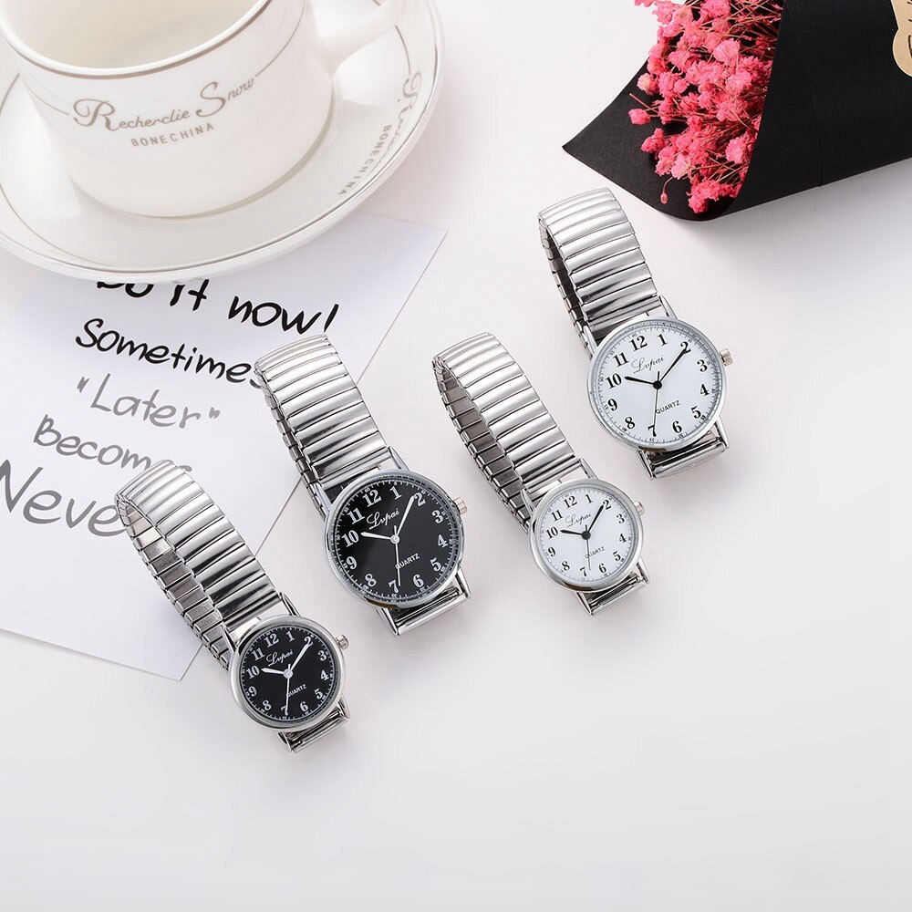 Couple Watch Mens Top Brand Luxury Quartz Watch Women Clock Ladies Dress Wristwatch Unisex Stainless