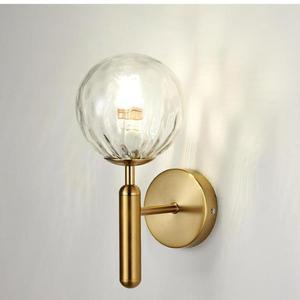 Glass Ball Modern Wall Lamp Simple Bedroom Bedside Led Wall Light Living Room Corridor Corridor Model Kids Room Led Lamps