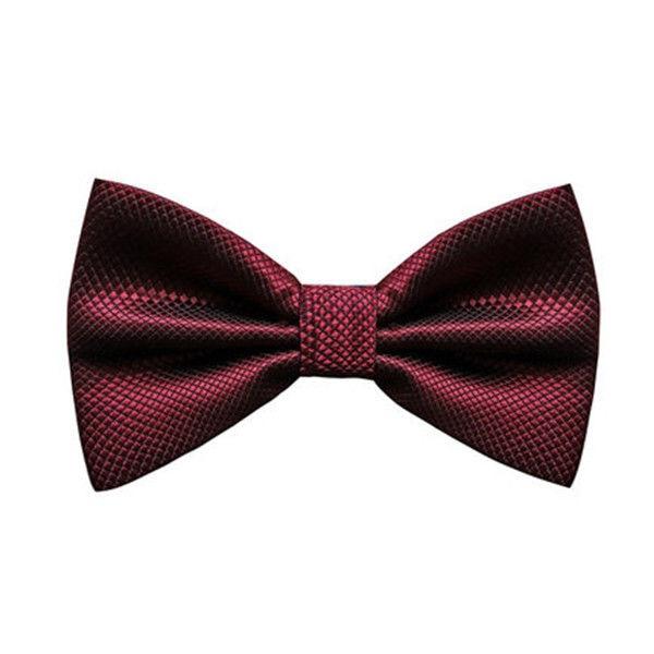 Bow tie fashion Wedding Party Men Women gravata-borboleta Solid Color Cravat Polyester Bowtie Male Dress Shirt gift