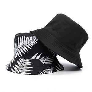 2021 Cotton four seasons Plant Print Bucket Hat Fisherman Hat Outdoor Travel Hat Sun Cap Hats for Men and Women 414