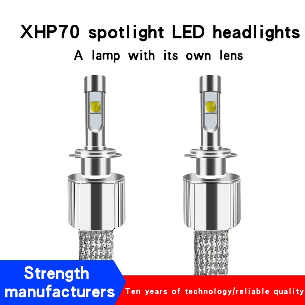 D2S Car light H4 H7 LED headlight H11 HB4 12v 24V led H11 Auto lampada HB3 9005 HIR2 Bulb Motorcycle fog light 6000K Headlights