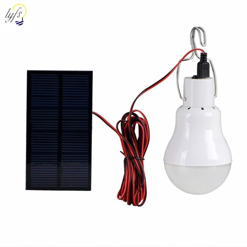 luz solar light 12 LED outdoor waterproof solar bulb hanging lamp courtyard garden solar led camping lights outdoors