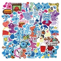1050pcs cartoon tv blues clues stickers for laptop guitar luggage skateboard car waterproof cool dog sticker decal kid toys