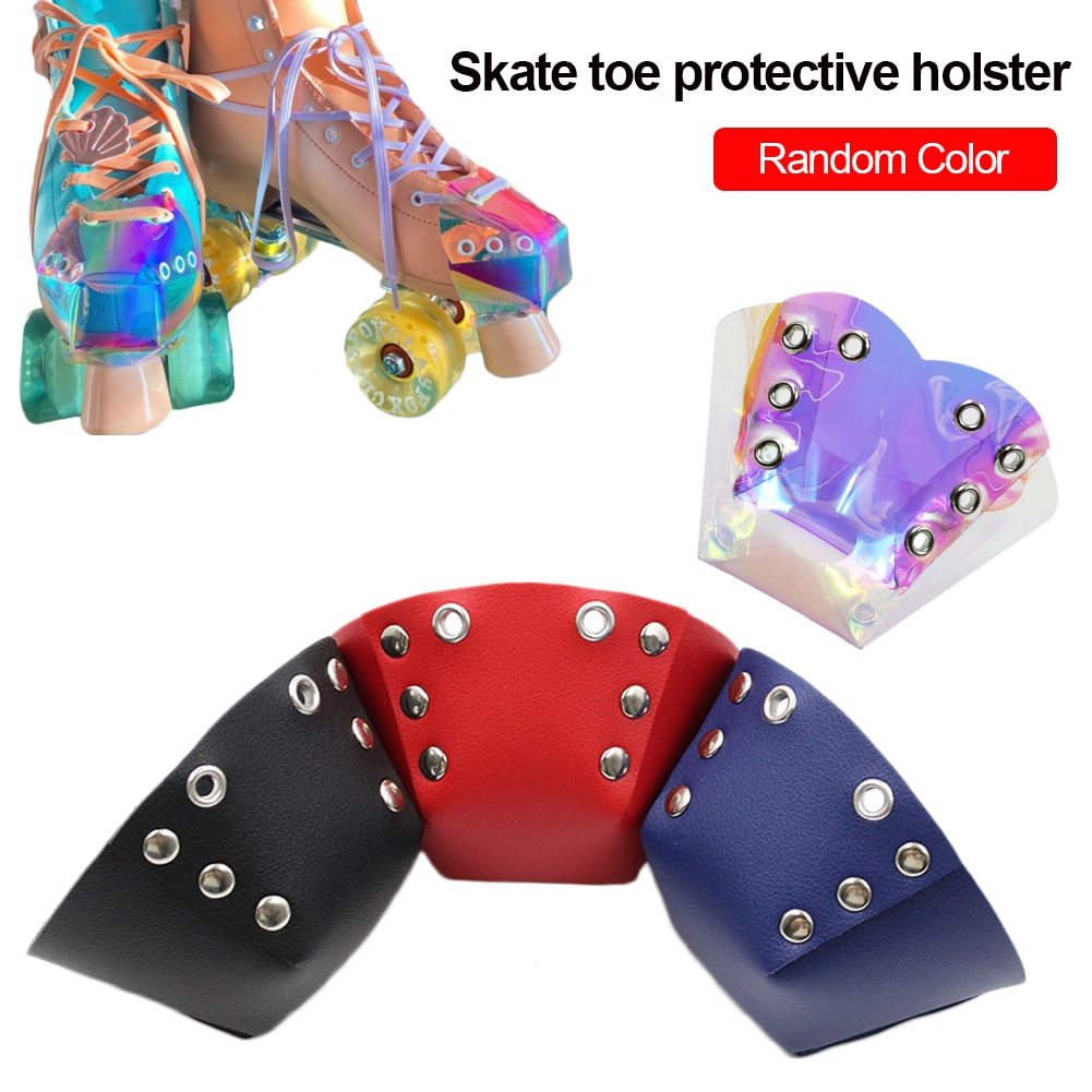 Ice Skating Leather Toe Cap Protector Cover Toe Guard Protective Cover Outdoor Training Gym Sports M
