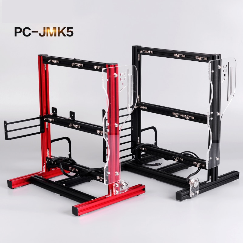 Portable Vertical PC Open Air Test Bench Open Frame Computer Stand Case DIY Mod For ATX MATX ITX Chassic Hand Held Graphics Card enlarge
