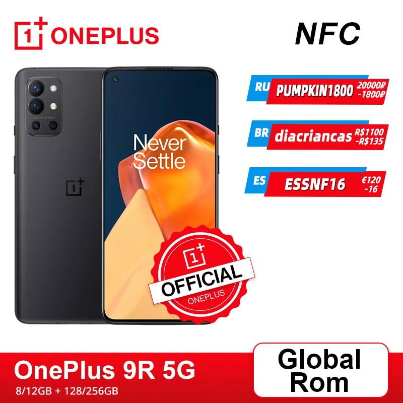 Глобальная прошивка OnePlus 9R 9 R 5G смартфон 8 ГБ 128 Snapdragon 870 120 Гц активно-матр