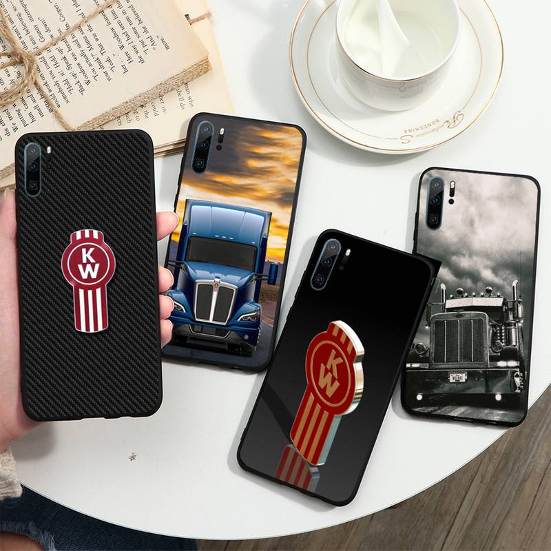 American heavy truck Kenworth Phone Cases For Huawei P40 P20 P30 lite Pro P Smart 2019 Mate 40 20 10