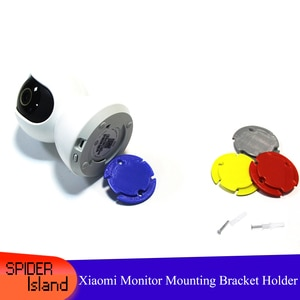 3D printed Holder Bracket for Xiaomi Camera Monitoring With Screw Hanging Wall mounting bracket wall Mount Bracket High quality