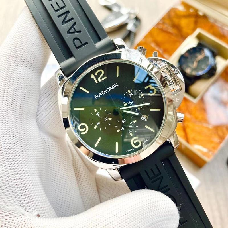 Radiomir Fashion Men's Waterproof for Panerai Watch Quality Luxury Sports Wristwatch for Luminor Mul