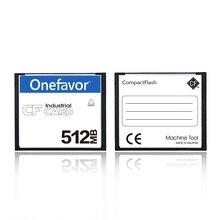 Original onefavor 512MB CF Compactflash-speicherkarte industrie 512M Cf-karte