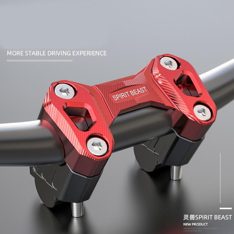 Spirit Beast-مقود دراجة نارية ، رمز ضغط لدراجة نارية Benelli 502C TRK502 TRK502X LEONCINO 500