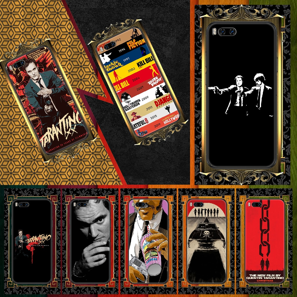 written-directed-quentin-tarantino-phone-case-for-xiaomi-mi-max-note-3-a2-a3-8-9-9t-10-lite-pro-ultra-black-soft-hoesjes-art